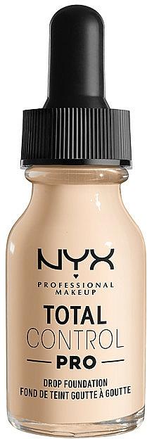 Fond de ten - NYX Professional Total Control Pro Drop Foundation