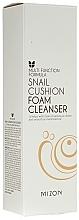 Parfumuri și produse cosmetice Spumă cu mucus de melc pentru față - Mizon Snail Cushion Foam Cleanser