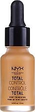 Parfumuri și produse cosmetice Fond de ten - Total Control Drop Foundation
