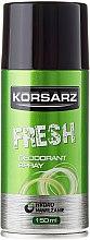 Parfumuri și produse cosmetice Deodorant - Pharma CF Korsarz Fresh Deodorant