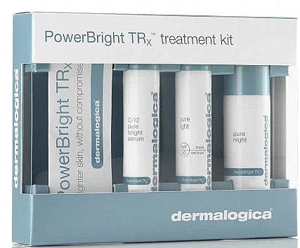 Set - Dermalogica Power Bright Trx Kit (serum/10 ml + cr/10 ml + cr/10 ml) — Imagine N1