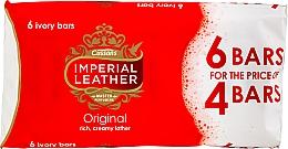 Parfumuri și produse cosmetice Set de săpun - Imperial Leather Soap Original (Soap/100g x 6buc)