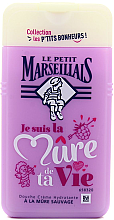 """Parfumuri și produse cosmetice Gel de duș """"Mure"""" - Le Petit Marseillais Blackberry Shower Gel"""