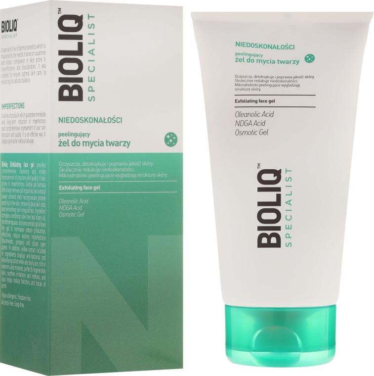 Peeling-Gel de curățare pentru față - Bioliq Specialist Exfoliating Face Gel — Imagine N1