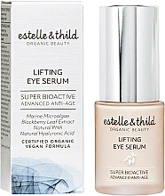 Parfumuri și produse cosmetice Ser pentru ochi - Estelle & Thild Super Bioactive Lifting Eye Serum