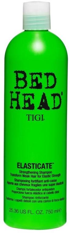 Șampon pentru întărirea firului de păr - Tigi Bed Head Elasticate Strengthening Shampoo — Imagine N1