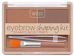 Parfumuri și produse cosmetice Set pentru stilizarea sprâncenelor - Wibo Eyebrow Shaping Kit