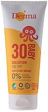 Parfumuri și produse cosmetice Cremă de protecție solară pentru copii - Derma Sun Baby Sollotion SPF30