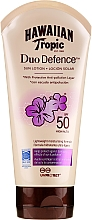 Parfumuri și produse cosmetice Loțiune de protecție pentru corp - Hawaiian Tropic Duo Defence Sun Lotion SPF50