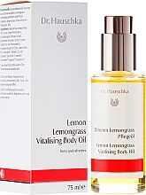 "Parfumuri și produse cosmetice Ulei de corp ""Lămâie și lemongrass"" - Dr. Hauschka Lemon Lemongrass Vitalizing Body Oil"