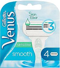 Parfumuri și produse cosmetice Casete de rezervă pentru aparatul de ras - Gillette Venus Smooth Sensitive
