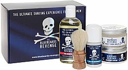 Parfumuri și produse cosmetice Set - The Bluebeards Revenge Deluxe Kit (sh/crem/100ml + post/sh/balm/125ml + pre-shave/oil/125ml + deo/50ml + shaving brush)