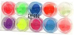 Parfumuri și produse cosmetice Set de design fluorescent pentru unghii - Chiodo Pro Puder