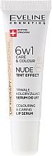 Parfumuri și produse cosmetice Ser intensiv 6 în 1 pentru buze - Eveline Cosmetics Lip Therapy Proffesional Tint