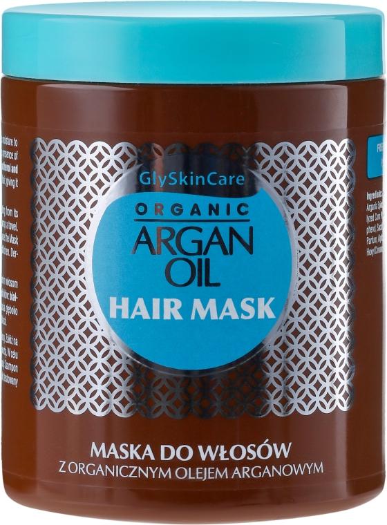 Mască de păr cu ulei de argan - GlySkinCare Argan Oil Hair Mask
