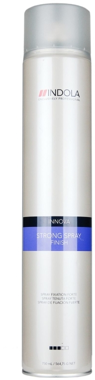 Spray de păr cu fixare puternică - Indola Innova Finish Strong Spray — Imagine N1