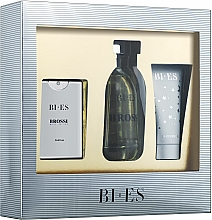 Parfumuri și produse cosmetice Bi-Es Brossi - Set (edt/100ml + edt/15ml + sh/gel/50ml)