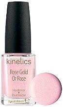 Parfumuri și produse cosmetice Întăritor pentru unghii - Kinetics Rose Gold Hardener