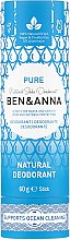 Parfumuri și produse cosmetice Deodorant (tub carton) - Ben & Anna Pure Natural Soda Deodorant Paper Tube