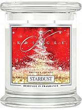 Parfumuri și produse cosmetice Lumânare aromatică, în borcan - Kringle Candle Stardust