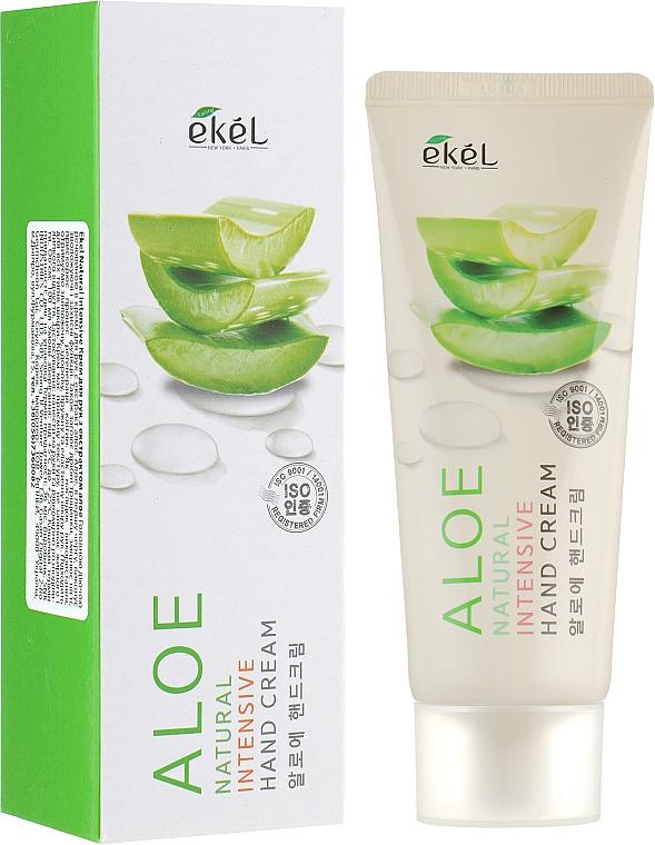 Cremă cu extract de aloe pentru mâini - Ekel Natural Intensive Aloe Hand Cream