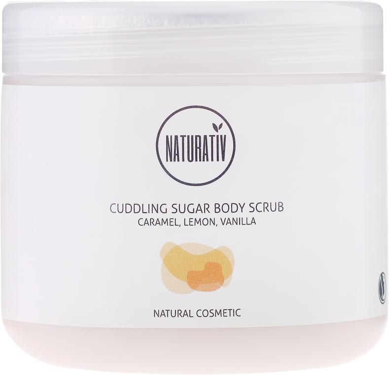 Peeling de corp cu zahăr - Naturativ Cuddling Body Sugar Scrub — Imagine N1