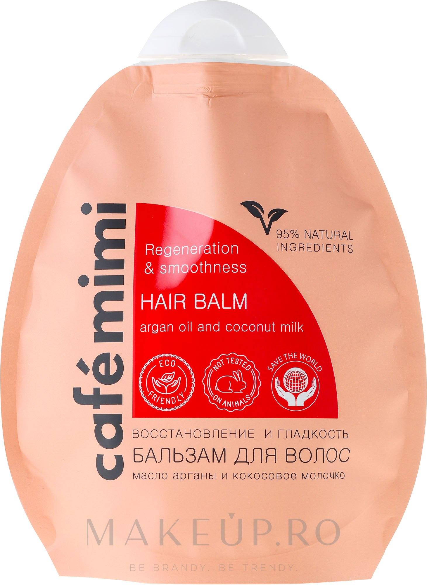 "Balsam de păr ""Restaurare"" - Le Cafe de Beaute Cafe Mimi Hair Balm — Imagine 250 ml"