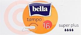 Parfumuri și produse cosmetice Tampoane, 16 bucăți - Bella Bella Premium Comfort Super Plus Tampo