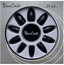 Parfumuri și produse cosmetice Gene false 6703, negre - Deni Carte