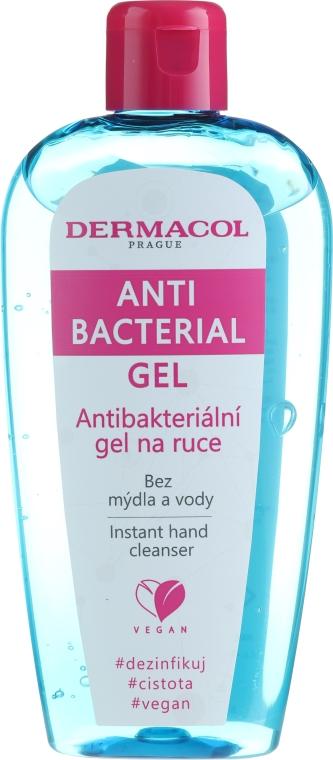 Gel antibacterian de mâini - Dermacol Anti Bacterial Hand Gel — Imagine N1
