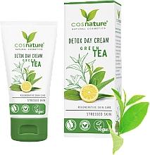 """Parfumuri și produse cosmetice Cremă de zi pentru față """"Detox"""" - Cosnature Detox Day Cream Organic Green Tea"""
