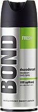 Parfumuri și produse cosmetice Deodorant - Bond Fresh Deo Spray