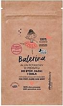 Parfumuri și produse cosmetice Pudră pentru picioare, mâini și corp - Floslek Balerina Potassium Alum Powder For Foot, Hand And Body