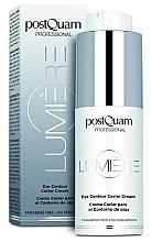 Parfumuri și produse cosmetice Cremă pentru pleoape - PostQuam Lumiere Eye Contour Caviar Cream