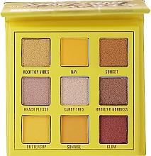 Parfumuri și produse cosmetice Paletă fard de ochi, 9 nuanțe - Makeup Obsession Shadow Palette