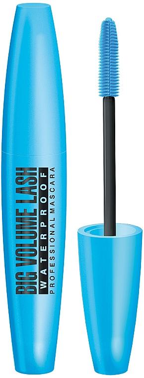 Mascara rezistentă la apă - Eveline Cosmetics Big Volume Lash Professional Mascara