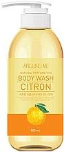 Parfumuri și produse cosmetice Gel de duș, cu extract de citrice - Welcos Around Me Natural Perfume Vita Body Wash Citron