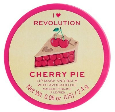 Balsam-mască de buze - I Heart Revolution Cherry Pie Lip Mask & Balm — Imagine N1