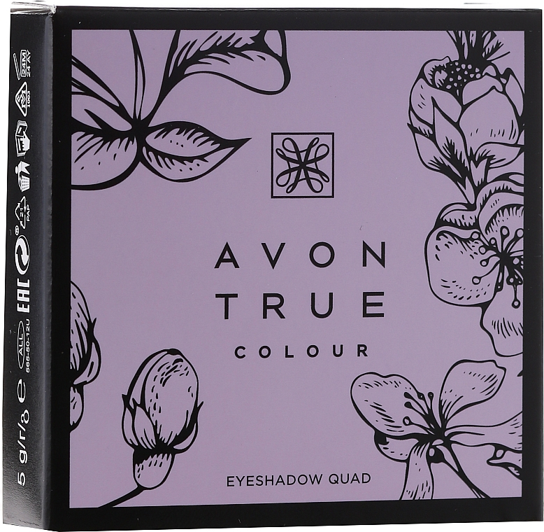 Fard de ochi - Avon True Color Eyeshadow Quad — Imagine N6