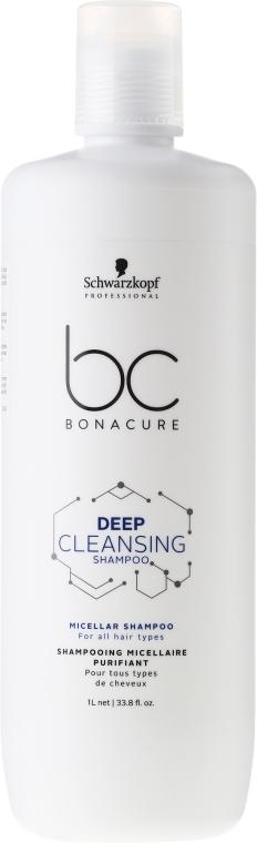 Şampon purificator - Schwarzkopf Professional Bonacure Deep Cleansing Shampoo