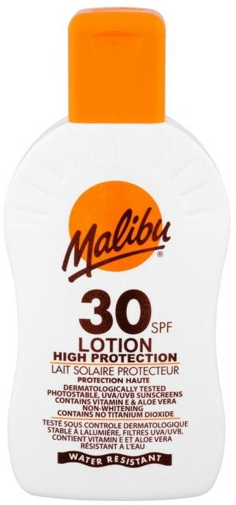 Lapte hidratant de protecție solară pentru corp SPF 30 - Malibu Lotion Hight Protection — Imagine N1
