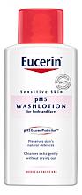 Parfumuri și produse cosmetice Loțiune de curățare pentru pielea sensibilă a corpului - Eucerin Sensitive Skin pH5 WashLotion