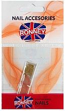 Parfumuri și produse cosmetice Strasuri pentru unghii, 00381, aurii - Ronney Professional Decoration For Nails