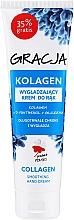 Parfumuri și produse cosmetice Cremă de mâini, cu efect de netezire și colagen - Gracja Collagen Hand Cream