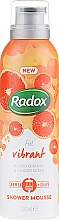 Parfumuri și produse cosmetice Spumă de corp - Radox Feel Vibrant Blood Orange & Ginger Scent Shower Mousse