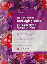 Parfumuri și produse cosmetice Mască de față - Leaders 7 Wonders Tundra Cranberry Anti-Aging Mask