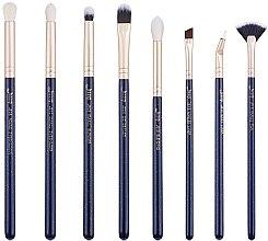 Parfumuri și produse cosmetice Set pensule pentru machiaj, T487, 8buc - Jessup