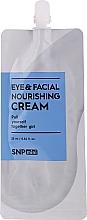 Parfumuri și produse cosmetice Cremă nutritivă pentru față și ochi - SNP Mini Eye & Facial Nourishing Cream (mini)