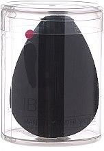 Parfumuri și produse cosmetice Burete de machiaj, negru - Ibra Makeup Beauty Blender