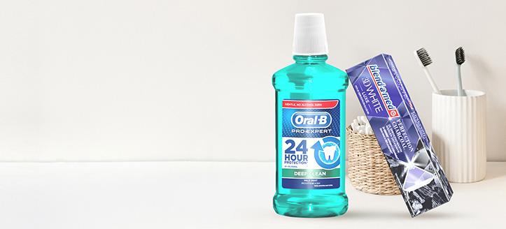 La achiziționarea produselor Blend-a-med, Blend-A-Dent și Oral-B începând cu suma de 30 RON, primești cadou o pastă de dinți